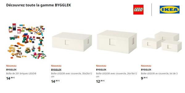LEGO | IKEA BYYGLEK : les produits sont disponibles