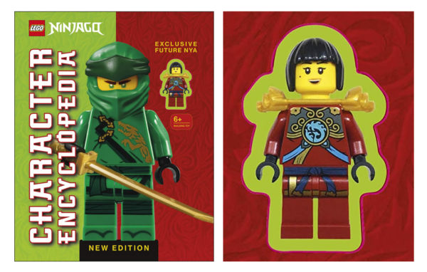LEGO Ninjago Character Encyclopedia New Edition : Future Nya sera la minifig exclusive