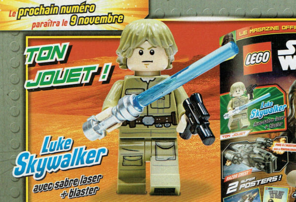 En kiosque : Le nouveau numéro du magazine officiel LEGO Star Wars