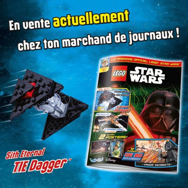 lego starwars official magazine france octobre 2020