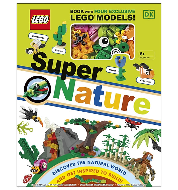 Nouveau livre à paraître en 2021 : LEGO Super Nature