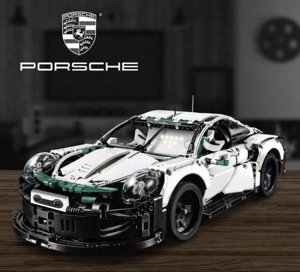 LEGO Lab : LEGO veut savoir si une Porsche 911 à la sauce Mindstorms vous plairait