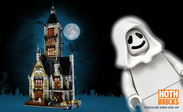 Concours : Un exemplaire du set LEGO 10273 Haunted House à gagner !