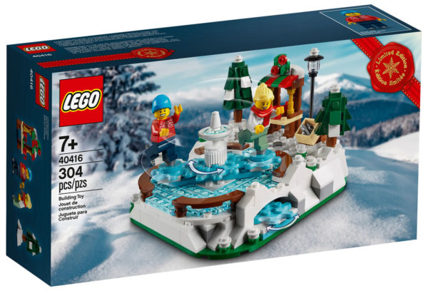 40416 LEGO Ice Skating Rink Limited Edition