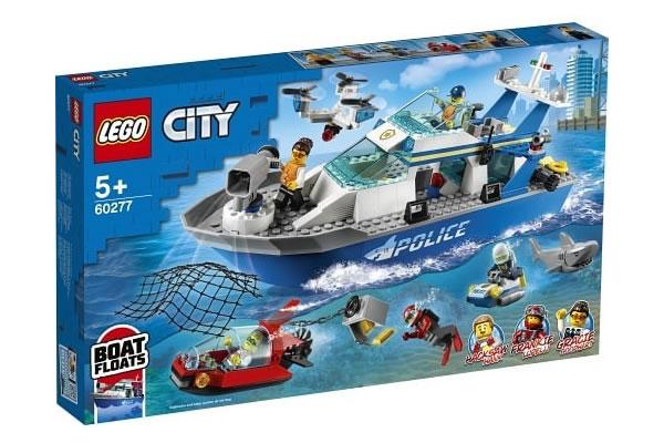 60277 lego city police boat submarine chase