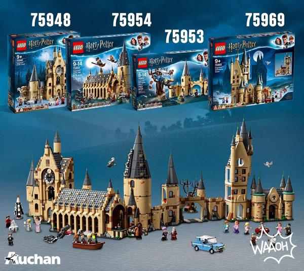 Chez Auchan : jusqu'à 25% d'économies sur LEGO Harry Potter