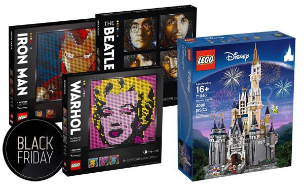 Black Friday 2020 : les offres LEGO ailleurs que chez LEGO