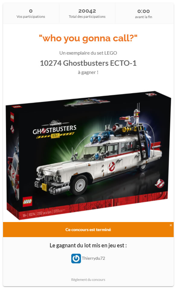 concours 10274 hothbricks