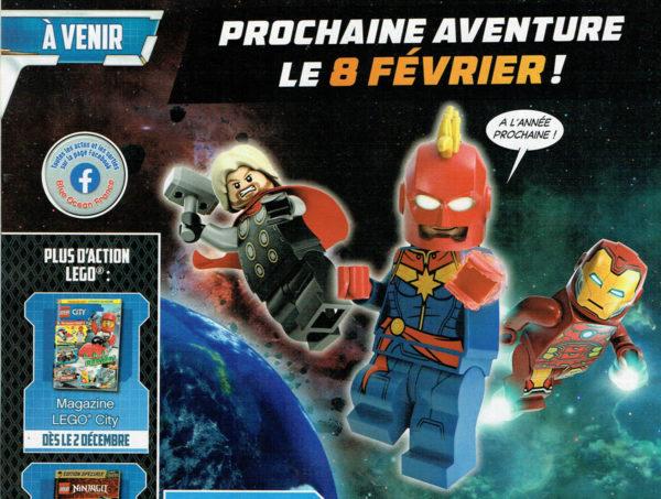 Magazine LEGO Marvel Avengers - Février 2021