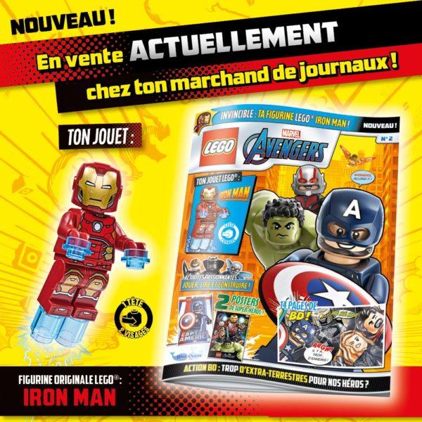 Magazine LEGO Marvel Avengers - Novembre 2020