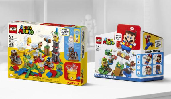 Nouveautés LEGO Super Mario 2021 : Maker Set, Soda Jungle et nouveaux sachets à collectionner