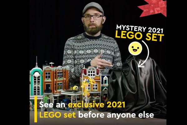 Black Friday 2020 : LEGO tease l'annonce du Modular prévu pour 2021