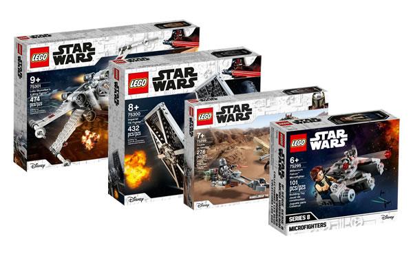 Nouveautés LEGO Star Wars 2021 : quatre sets sont en ligne sur le Shop