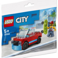 LEGO 30568 City Skater & Car