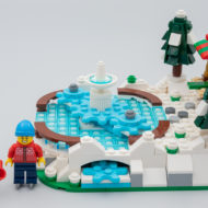 LEGO 40416 Ice Skating Ring Limited Edition