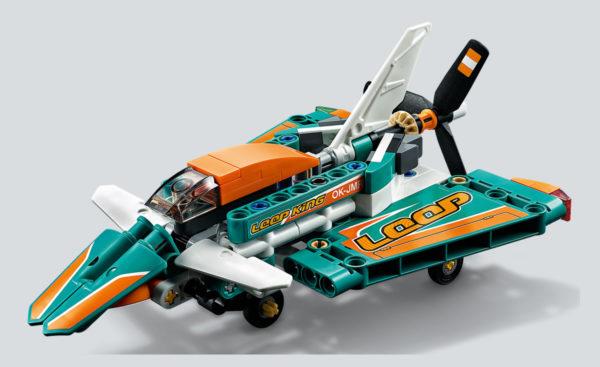 42117 lego technic race plane review hothbricks 9
