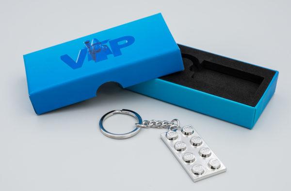 LEGO 5006330 VIP Metal Keychain