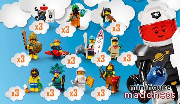 LEGO 71029 Collectible Minifigure Series : 3 séries complètes par boite ?