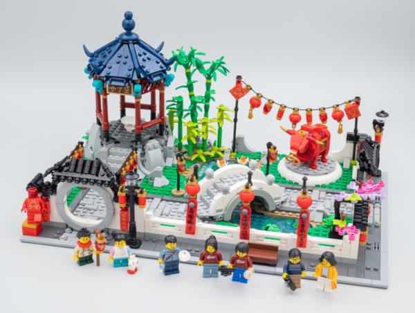 LEGO Çin Yeni ili 2021 80107 Bahar Fənər Festivalı