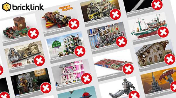 BrickLink Designer Program : Une deuxième chance pour les projets LEGO Ideas rejetés
