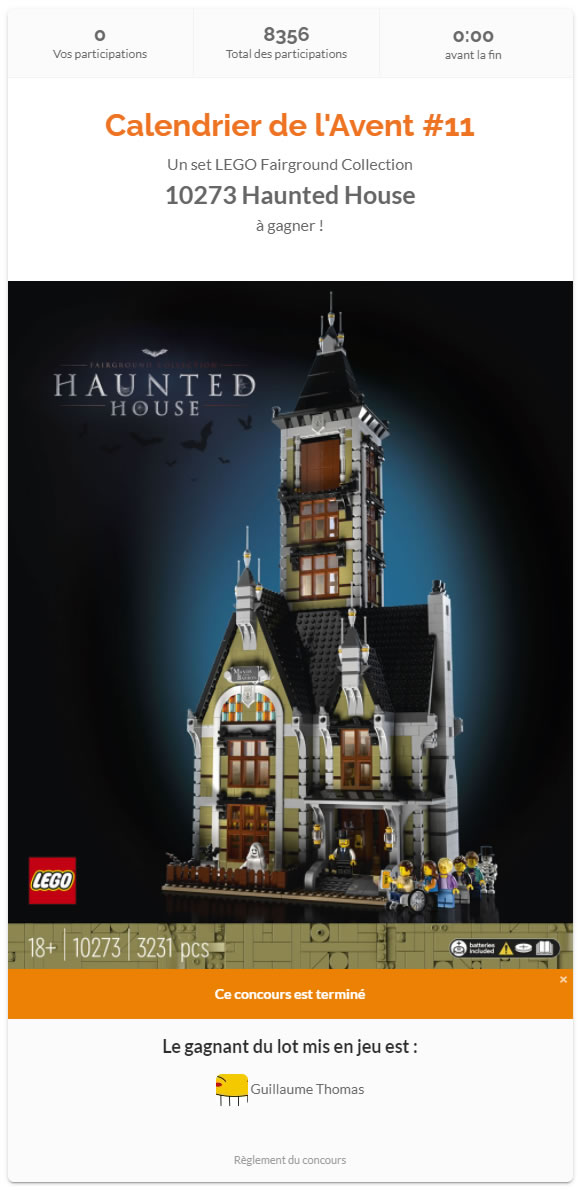 concours 10273 2 hothbricks