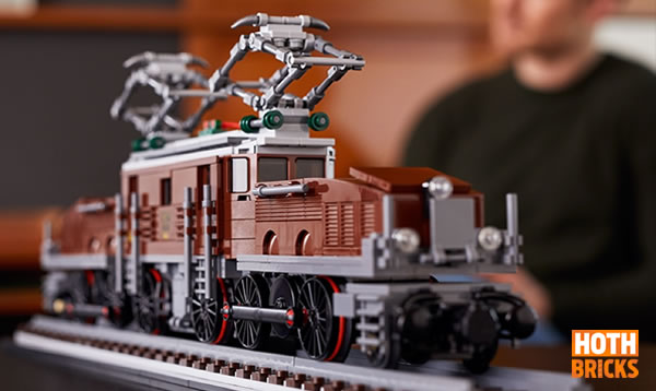 Calendrier de l'Avent Hoth Bricks #8 : Un set LEGO 10277 Crocodile Locomotive à gagner