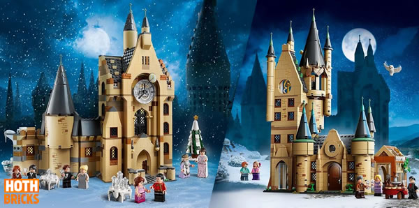 Calendrier de l'Après Hoth Bricks #1 : Un lot de sets LEGO Harry Potter à gagner