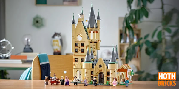 Calendrier de l'Avent Hoth Bricks #3 : Un exemplaire du set LEGO 75969 Hogwarts Astronomy Tower à gagner !