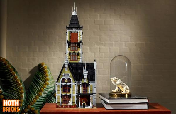 Calendrier de l'Avent Hoth Bricks #11 : Un set LEGO 10273 Haunted House à gagner