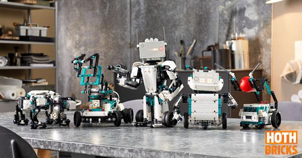 Calendrier de l'Avent Hoth Bricks #12 : Un set LEGO Mindstorms 51515 Robot Inventor à gagner