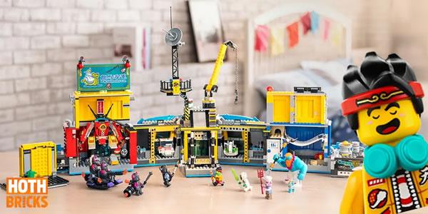 Concours : Un exemplaire du set LEGO 80013 Monkie Kid's Team Secret HQ à gagner !