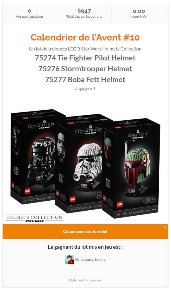 concours starwars helmets hothbricks
