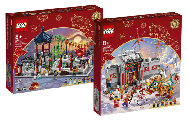 Nouveaux sets LEGO Chinese New Year 2021 : les visuels officiels...des boites