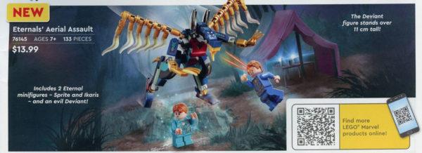 LEGO Marvel Eternals 76145 Eternals' Aerial Assault