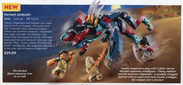 LEGO Marvel Eternals 76154 Deviant Ambush !