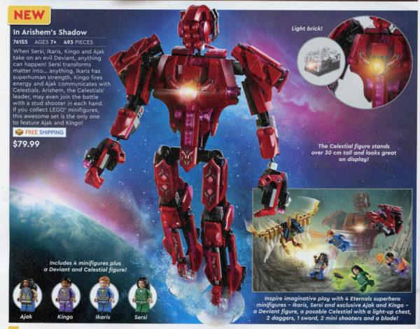 LEGO Marvel Eternals 76155 In Arishem's Shadow