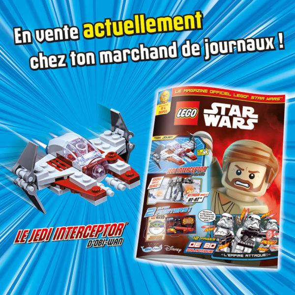 En kiosque : Le nouveau numéro de décembre 2020 du magazine officiel LEGO Star Wars