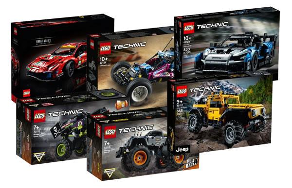 Nouveautés LEGO Technic 2021 : plusieurs références déjà disponibles sur FNAC.com