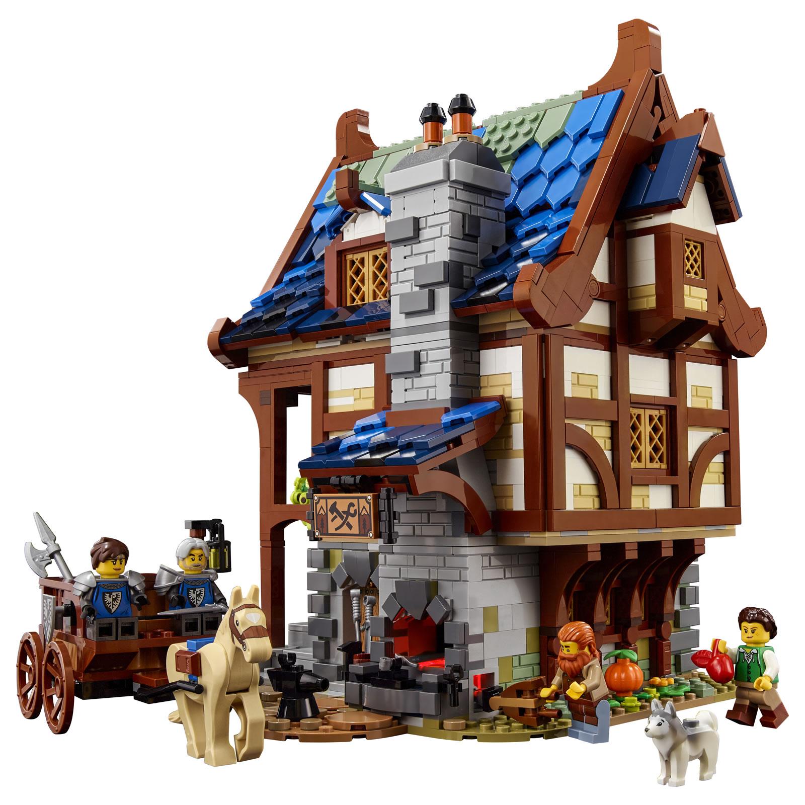 LEGO : Ze topik =) - Page 7 21325-lego-ideas-medieval-blacksmith_1-1