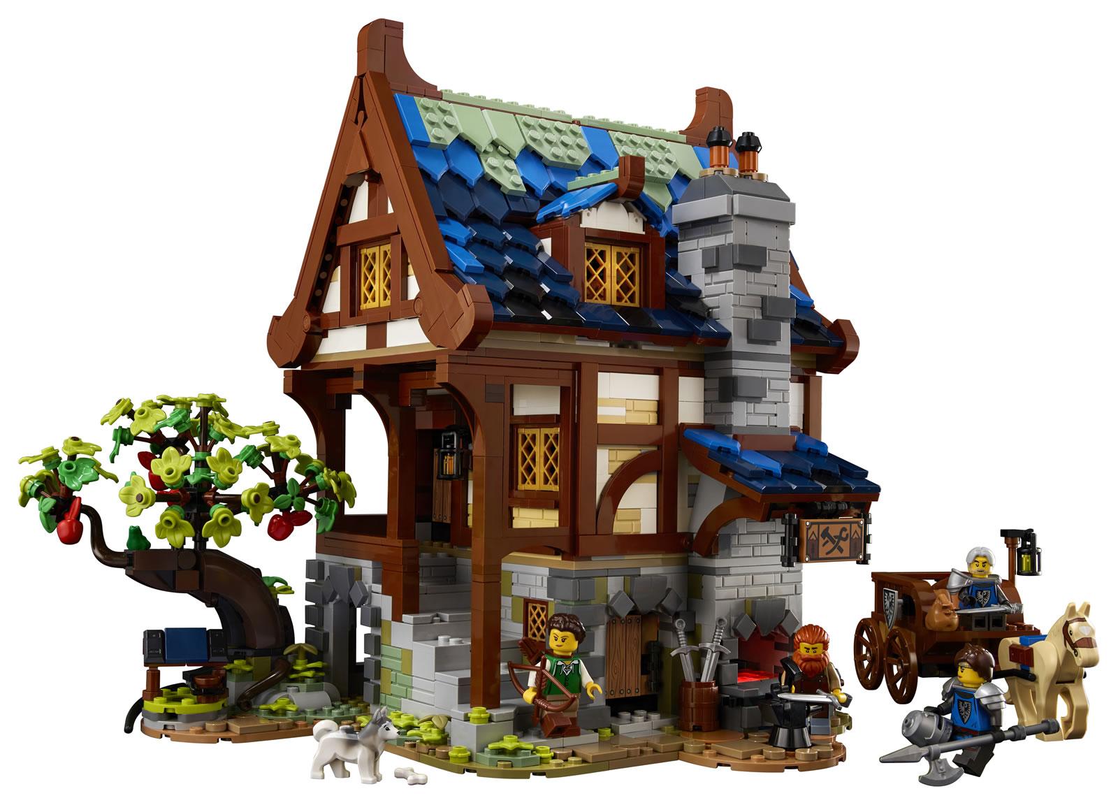 LEGO : Ze topik =) - Page 7 21325-lego-ideas-medieval-blacksmith_2-2