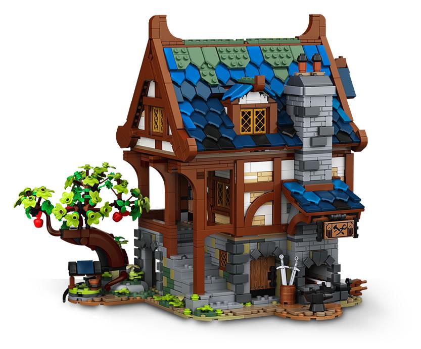 LEGO : Ze topik =) - Page 6 21325-lego-ideas-medieval-blacksmith_2