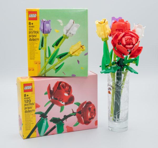 LEGO 40460 Roses & 40461 Tulips