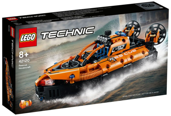 LEGO Technic 42120 Rescue Hovercraft