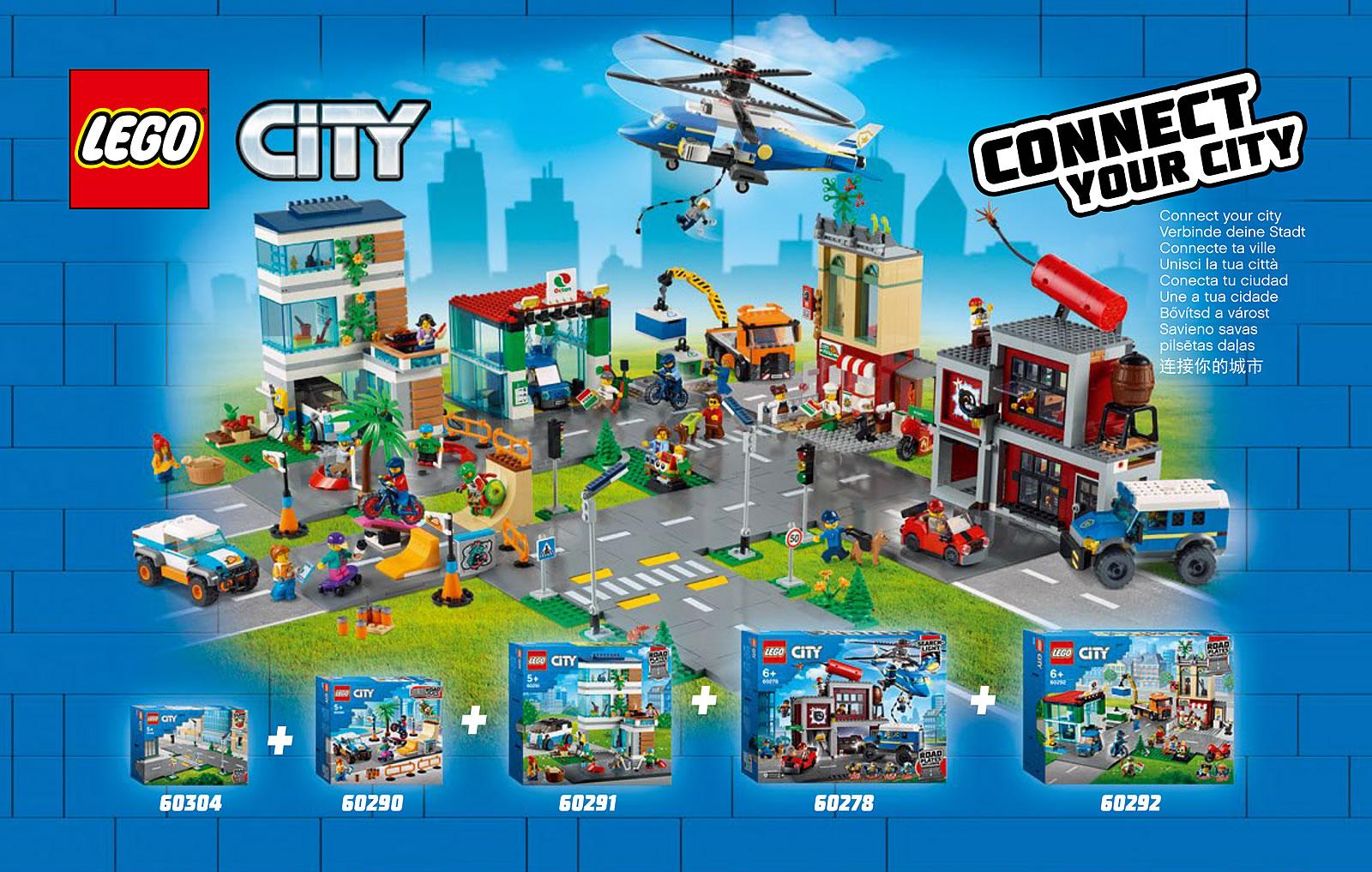 Nouveautés LEGO CITY 2021 : premier visuel du set 60278 ...