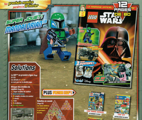 LEGO Star Wars Magazine - Février 2021