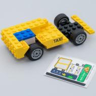 LEGO Creator 40668 Yellow Taxi & 40669 Tuk-tuk