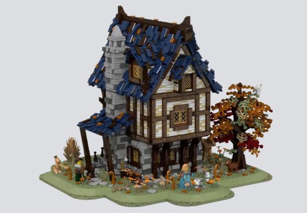 lego medieval blacksmith namirob project