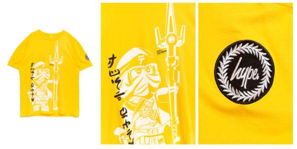 lego ninjago hype clothing line tshirt 1