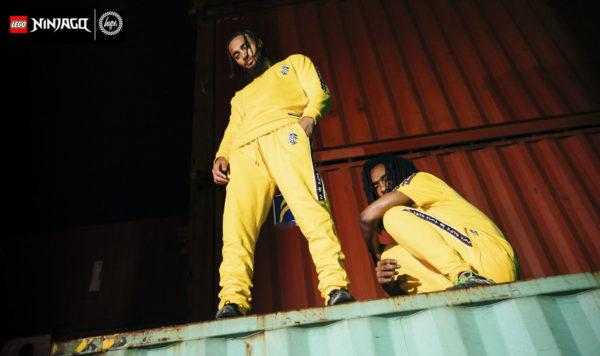 lego ninjago hype collab clothing line 2021 2