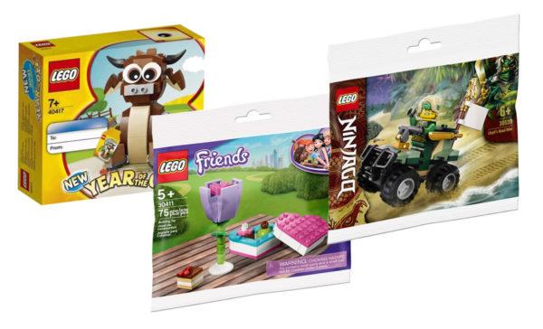 En février 2021 chez LEGO : le détail des offres promotionnelles prévues